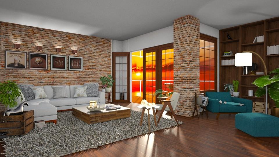 RedBrick - Living room  - by snjeskasmjeska