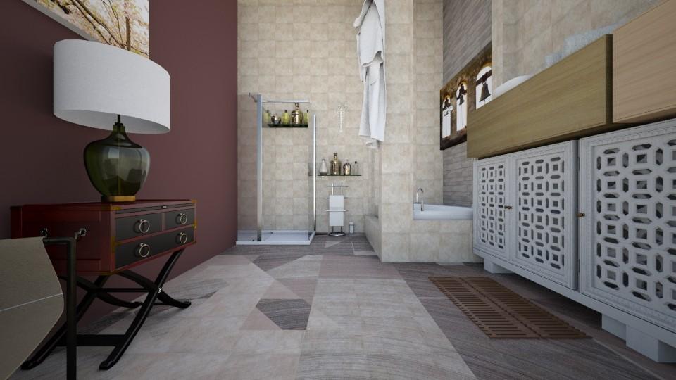 cuarto P bano 1o - Bathroom - by sami1968