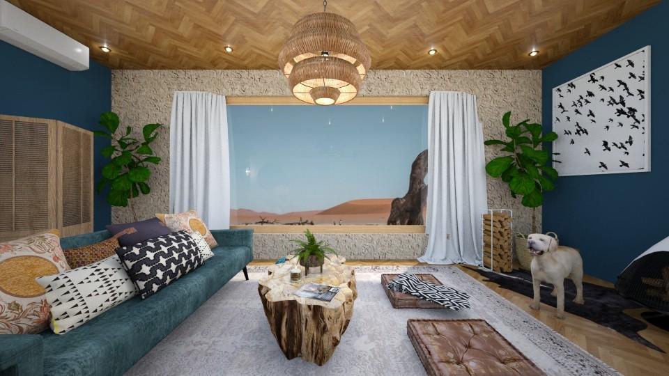 CHAI - Living room - by t harv