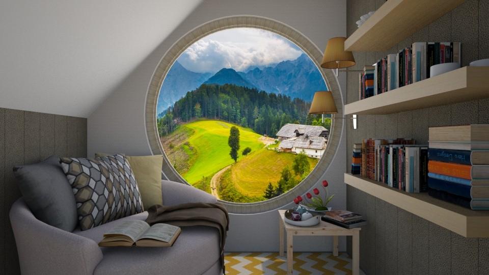 round window - by sunflower123