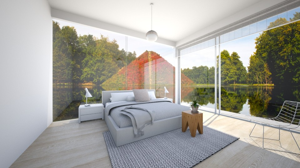 Fresh and White - Bedroom  - by Cartell