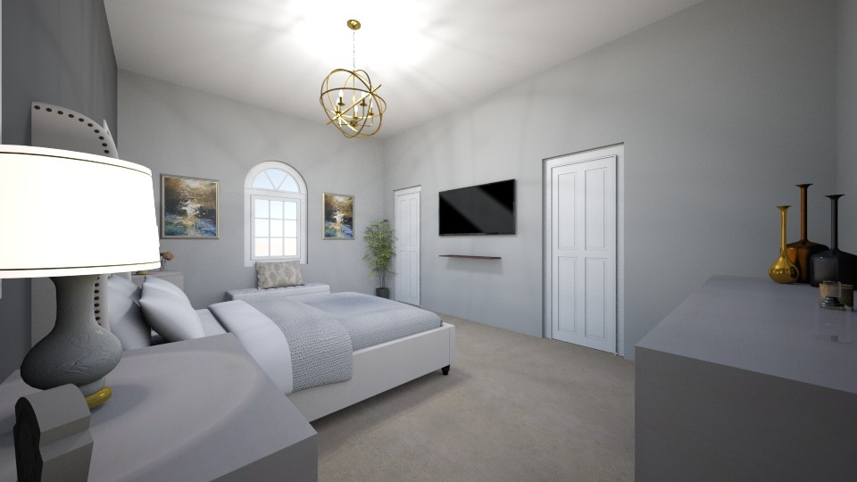 Master Bedroom 1 Angel 3 - Modern - Bedroom - by Christine Ward_877