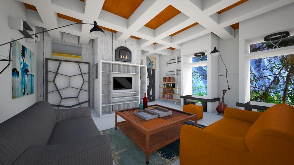 Boho Living - Retro - Living room - by lauracopey