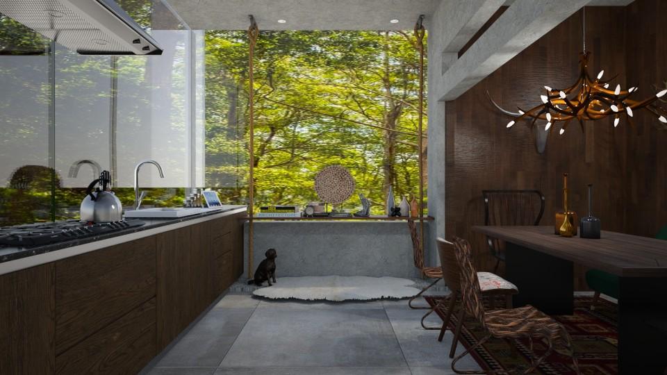 kitchen 2 - Modern - Kitchen - by nazlazzhra