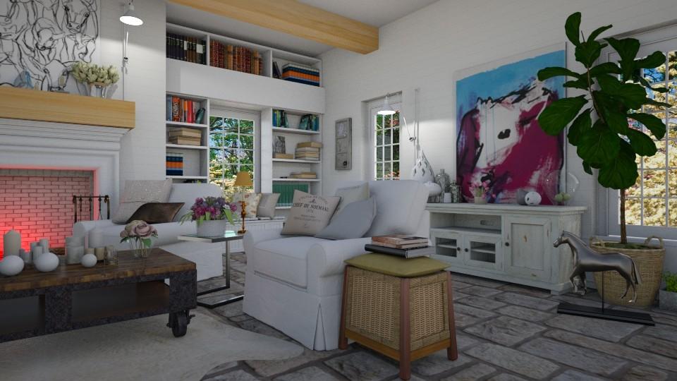 un sogno - Living room - by svetlysveva