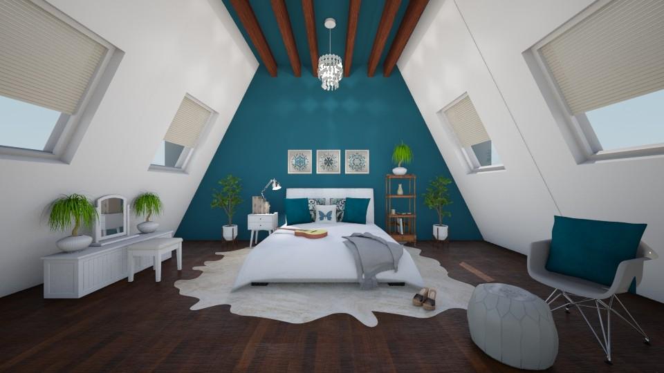 Bohemian Dream - Global - Bedroom - by artist4568