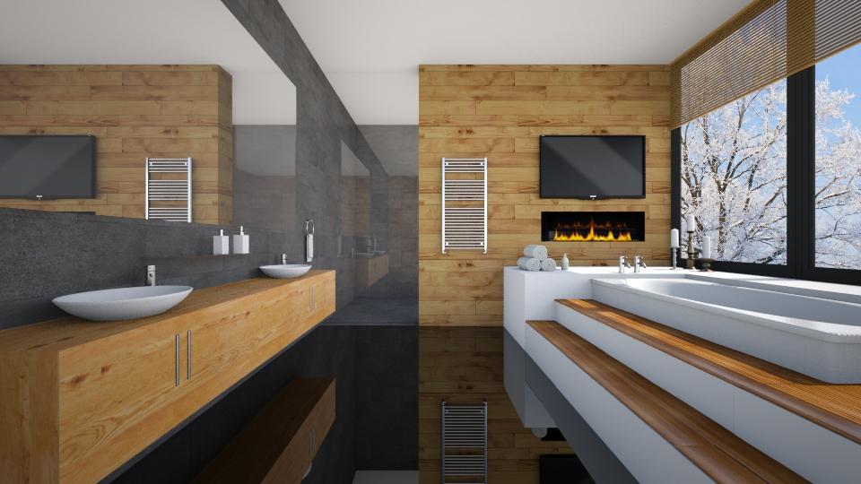 Winter Bathroom II - by _Taz_