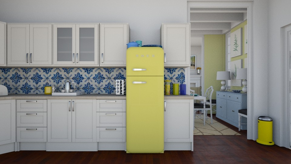 Yellow - Kitchen - by ANM_975