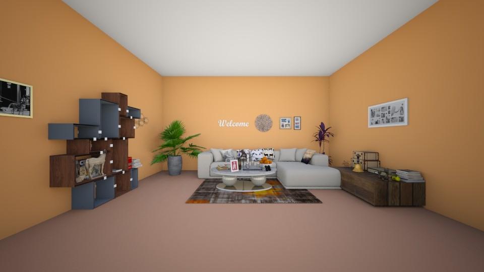 books - Living room - by Deni star