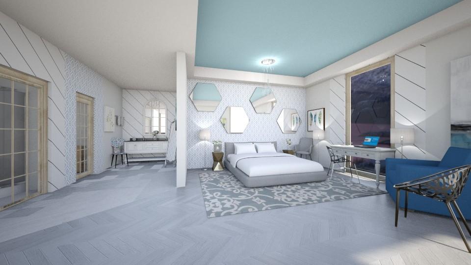 Simple Suite - Bedroom - by sjm2025ozark
