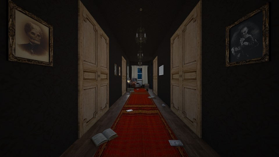 Creepy hallway - by purpleyesi