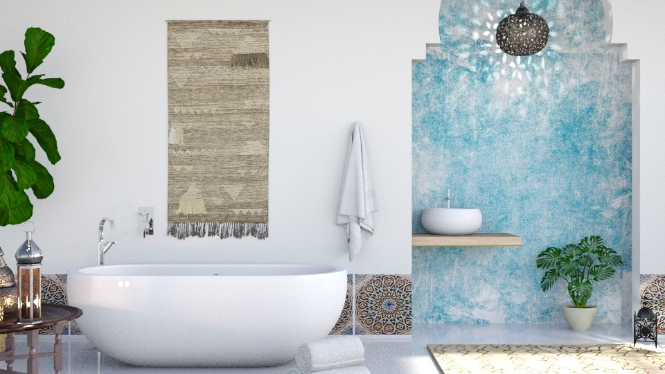 Light - Bathroom - by ArtHousedeco
