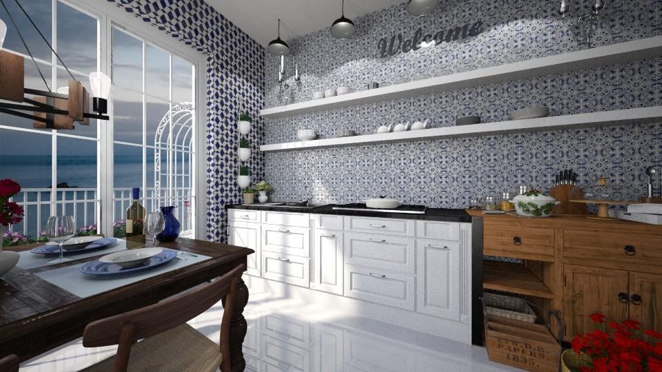 Maioliche in the Kitchen - by rossella63