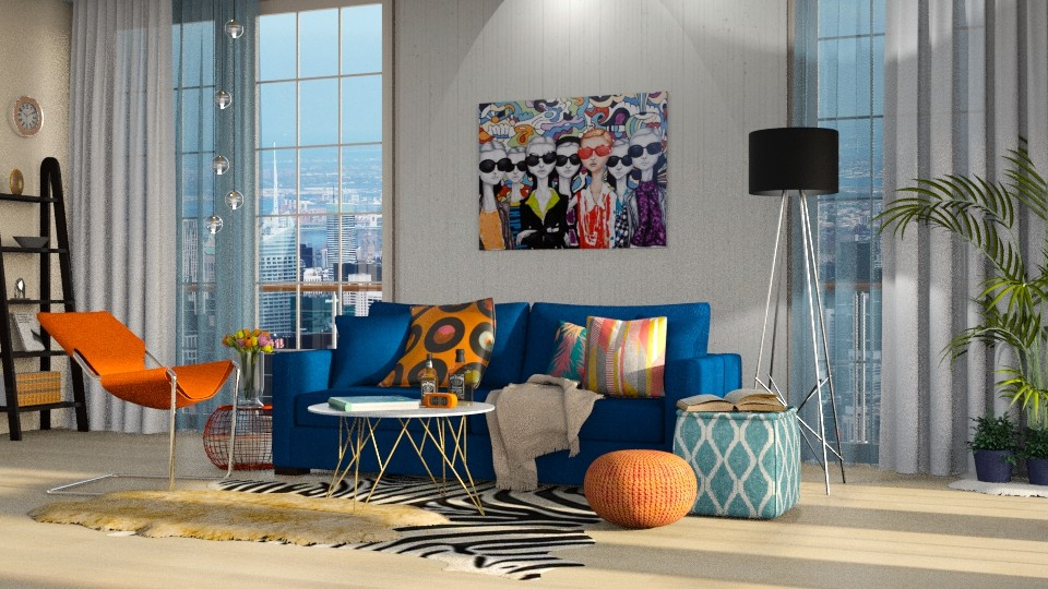 OB Living  - Living room - by martillaga
