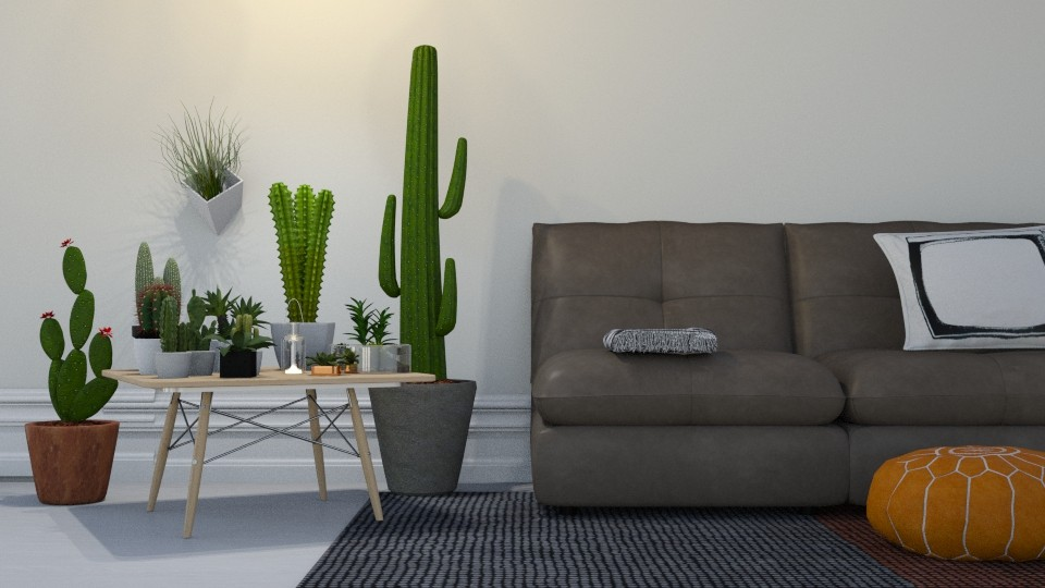 Cactus  - Garden - by Roomstyler101102