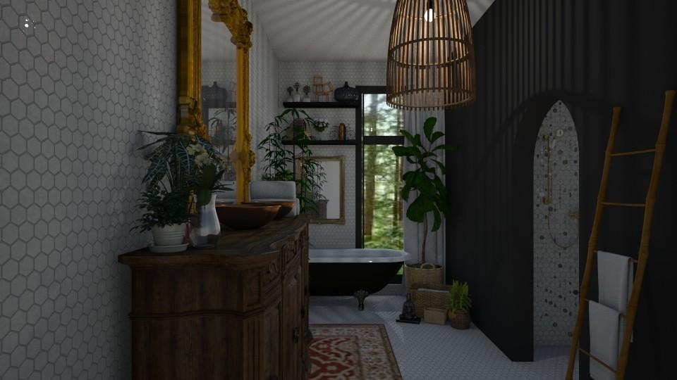 Boho Bath - Bathroom - by aq123