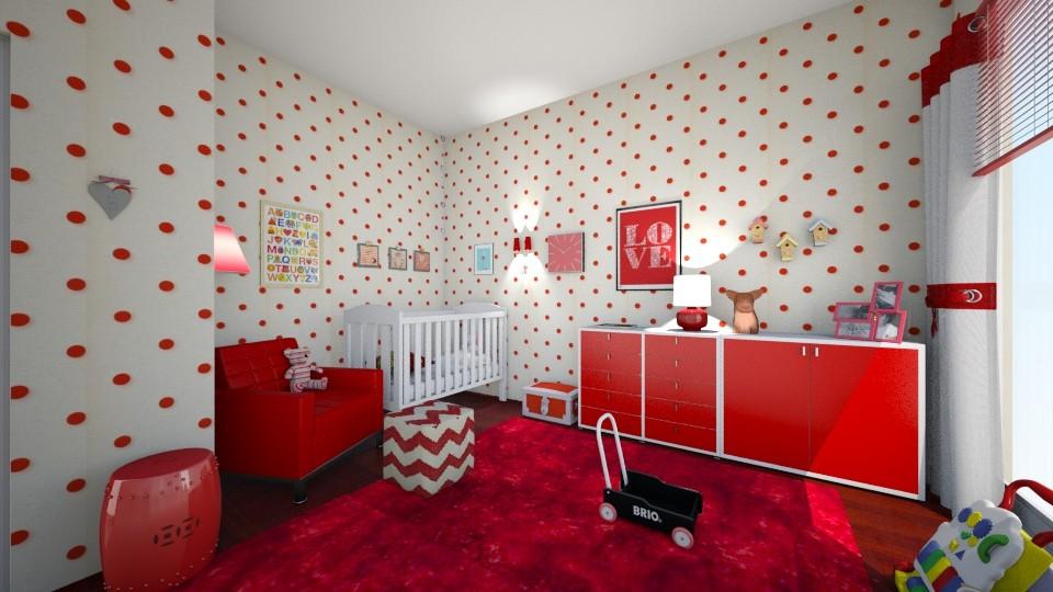 caroline - Kids room - by hillygabe