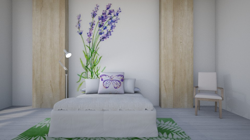 Lilac - Modern - Bedroom - by millerfam