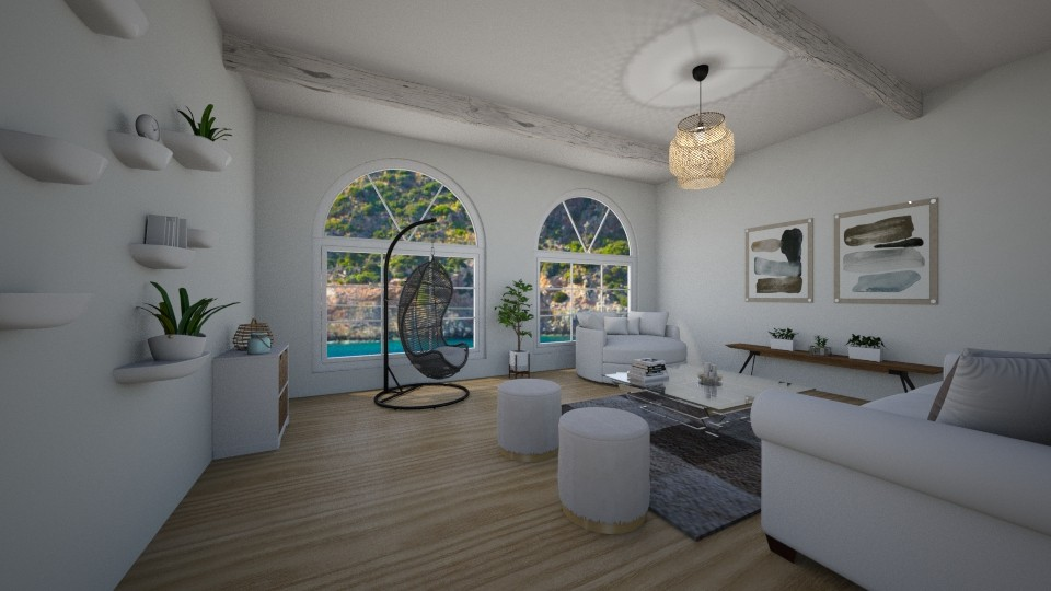 airy living room - Living room - by erladisgudmunds