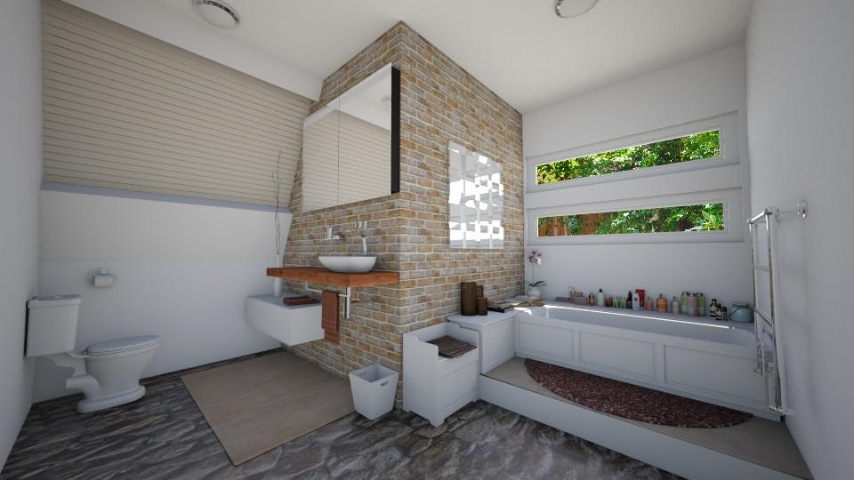 small bathroom - Bathroom - by peedeepow