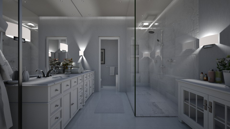 Modern Bathroom - by DiamondJ569