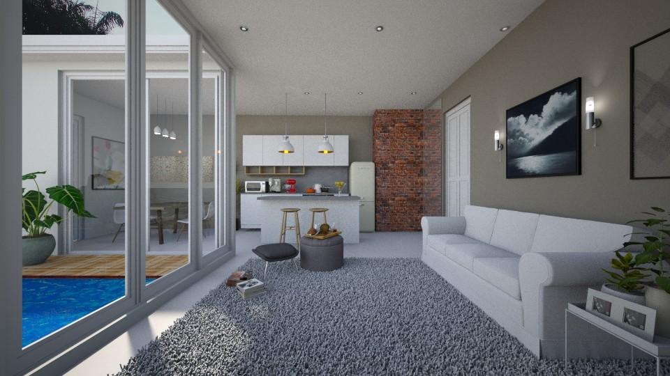 Si and Tuchi _Comfy New - Living room - by MeSisilia