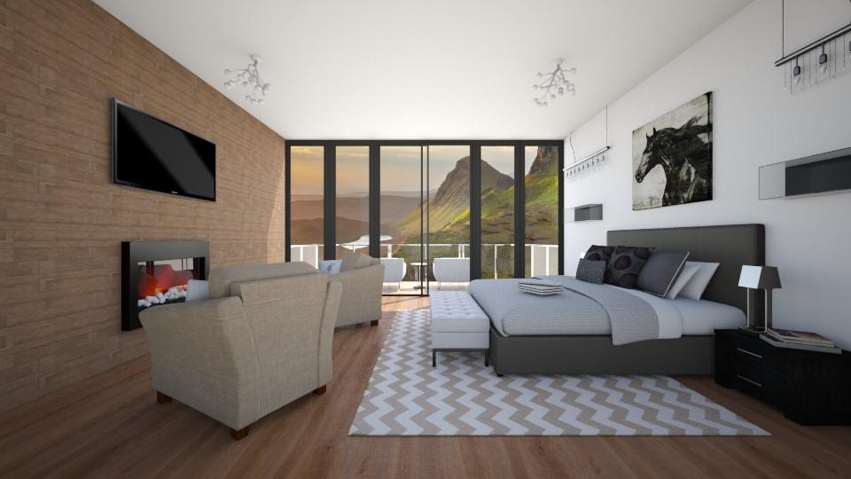 Luxury Bedroom - Bedroom - by Cairalacas