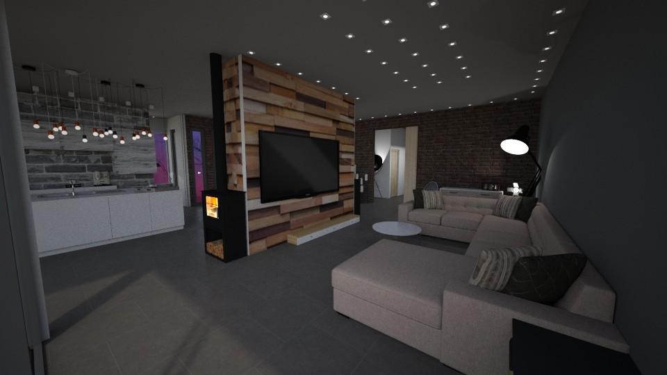 ECO18 REZ Living room - by Shuu Dark