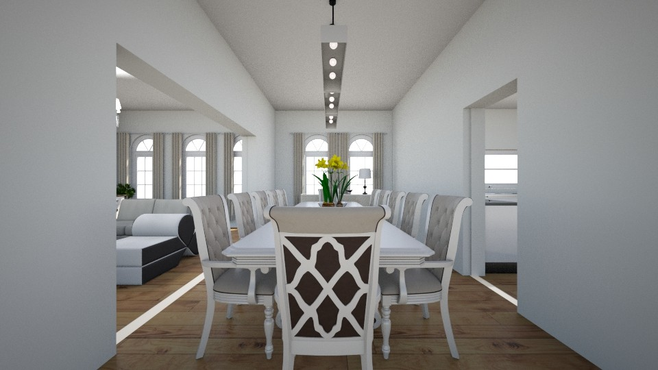 new home dine - Classic - Dining room - by Stephanie Felix