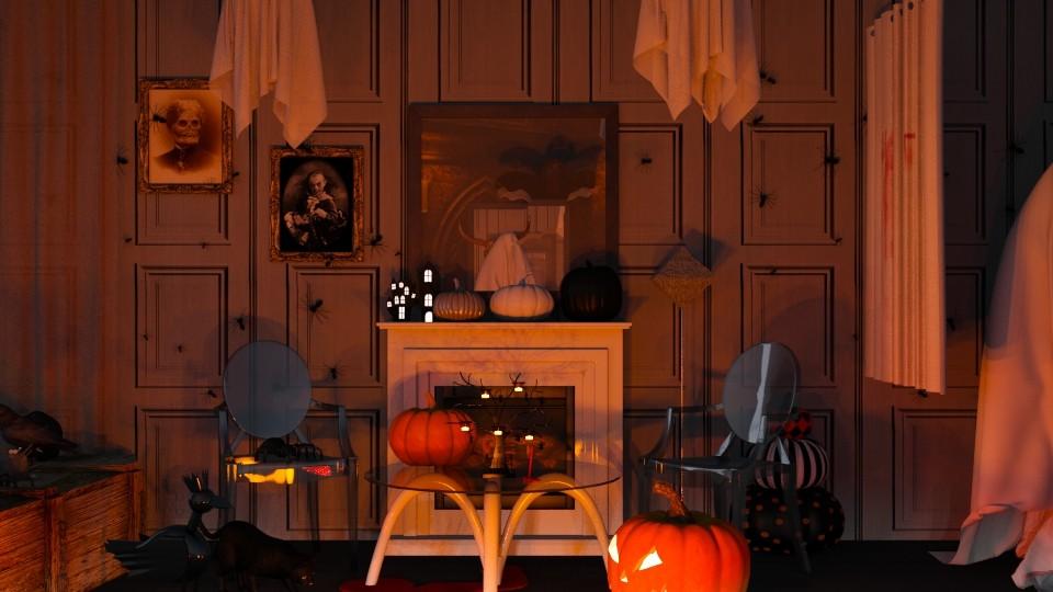 Halloween_II - by Nocturnal Leopard