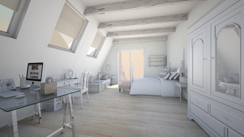 bonjour paris - Feminine - Bedroom - by Georgina Holly