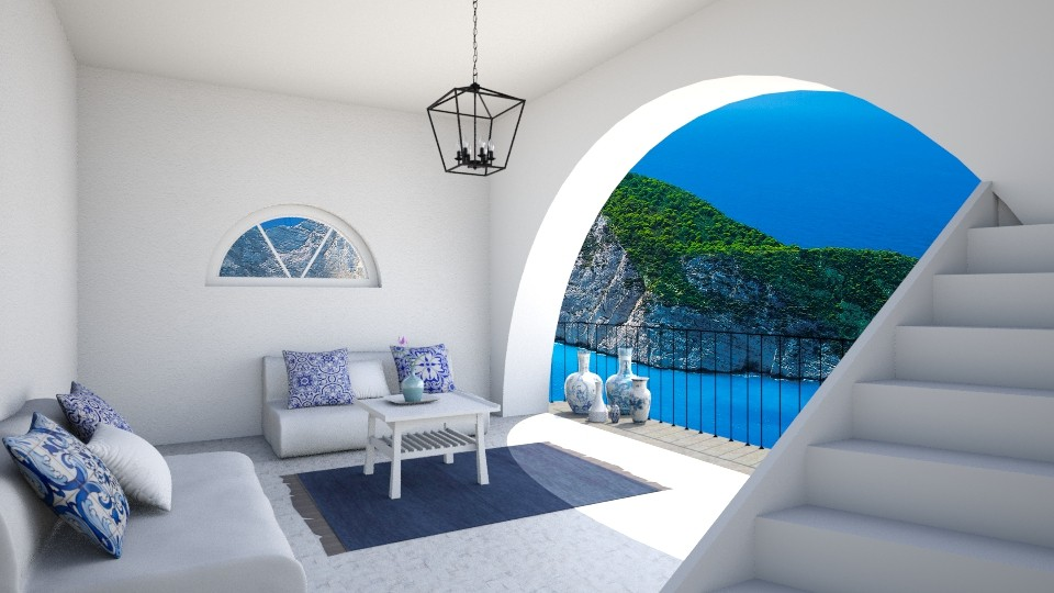 Greek  - Living room  - by Cartell