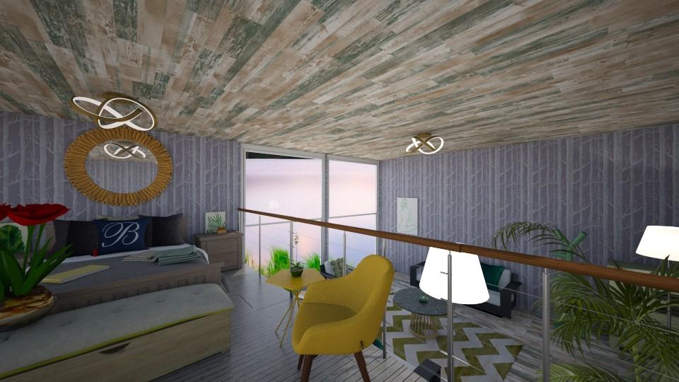 Modern Home - Modern - Living room  - by Lisa Simpson