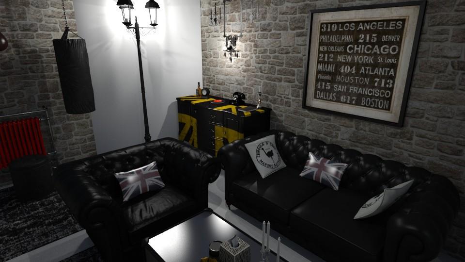 My Living room 4 - Vintage - Living room - by kostis kkkk