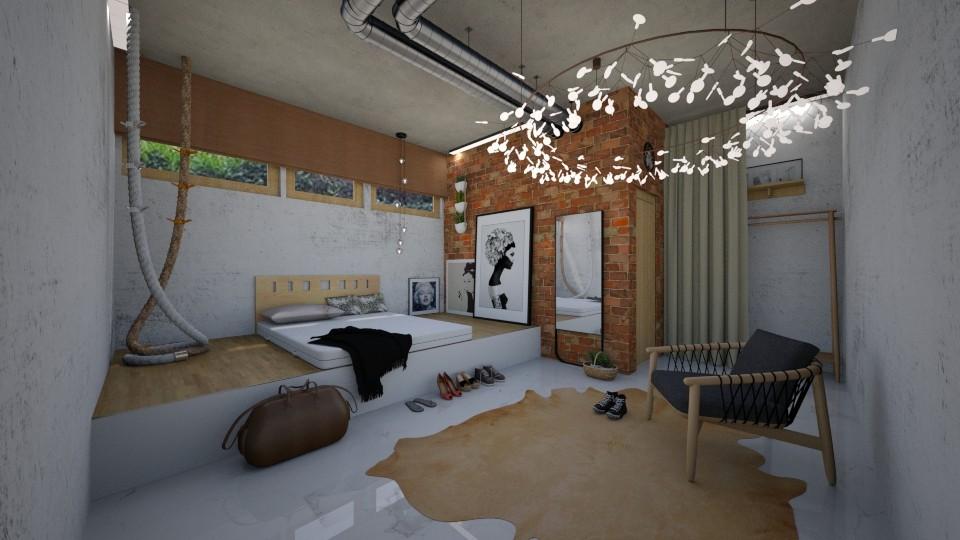 swedish underground dorm - by seufri