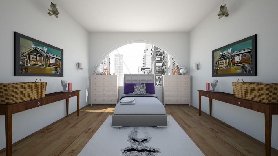 New York Bedroom - Bedroom - by roomystyler110