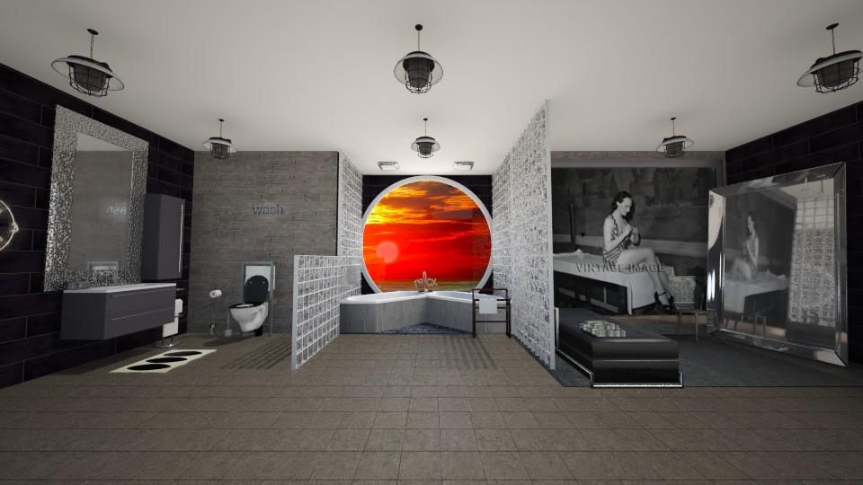 Lavabo1 - Modern - Bathroom - by Violeta Sordo