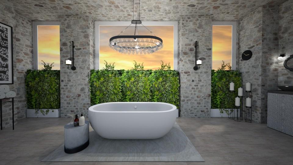 bathroom 5 - by elhamsal24