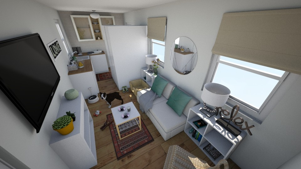 small home living room - by ismellhippies
