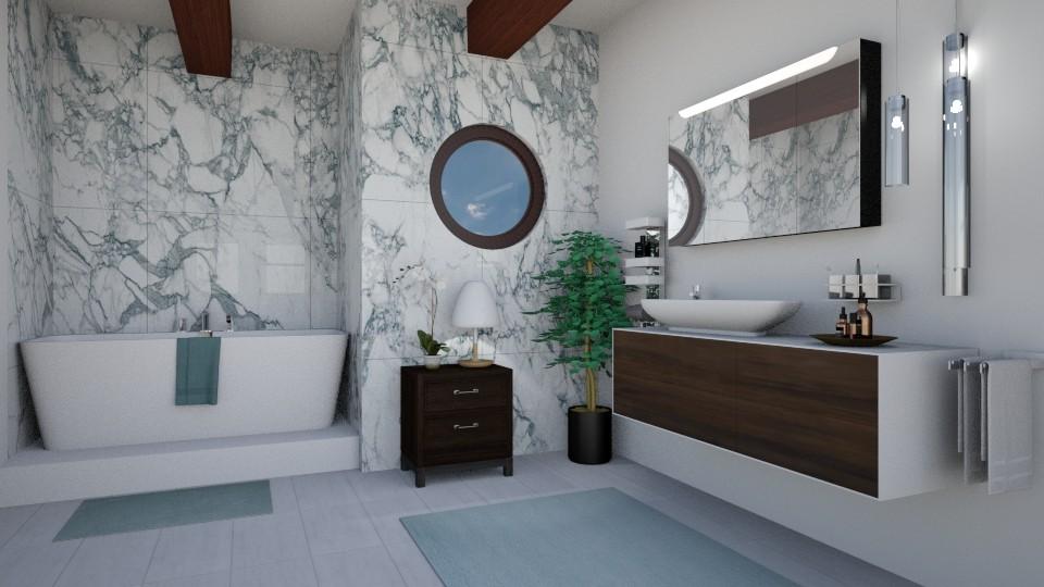 Mid Century Bathroom - Bathroom - by lotsofglory