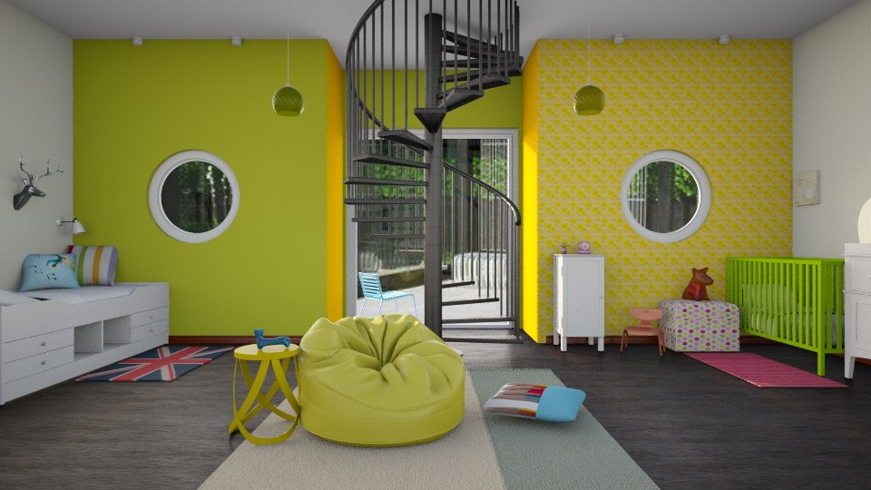 Modern kids room - Modern - Kids room  - by Elise DR