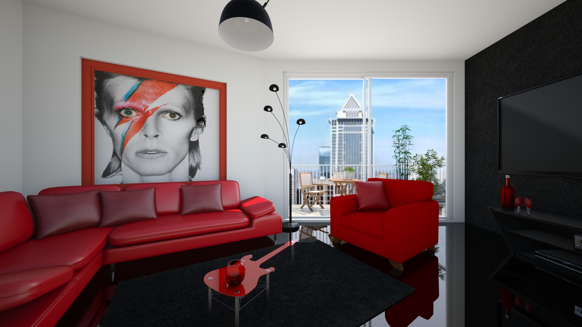 David Bowie - Modern - Living room - by ned31