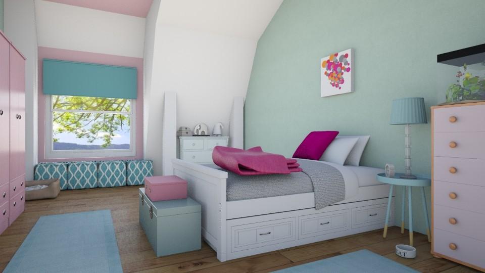 Girl Bedroom - Bedroom  - by Sanja Pipercic