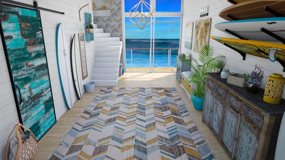 Surf through hallway - Modern - by Nina Colin