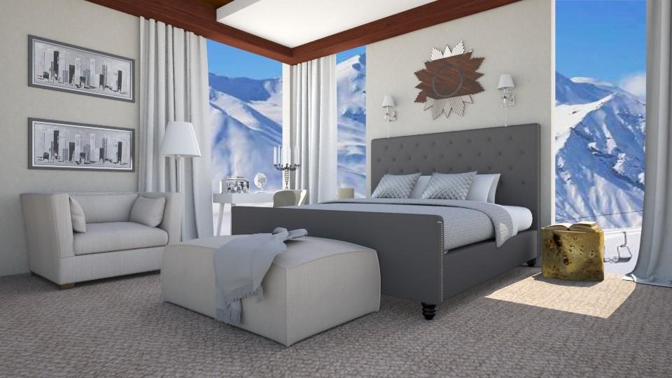 white room  - by gvidiani_nina