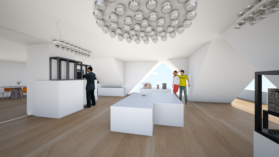 exibition center - Modern - Office - by vicci