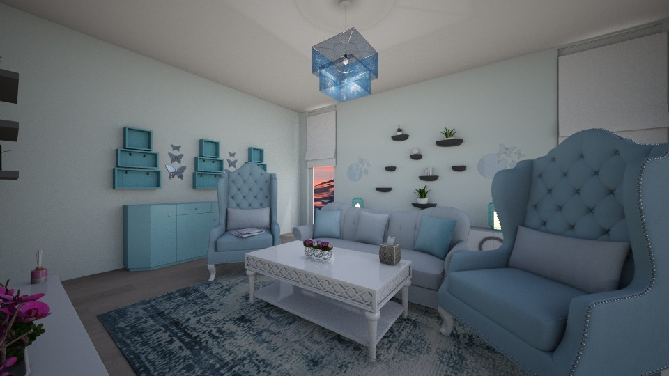 ArabesqueLivingRoom - Living room  - by Aycan Ismail