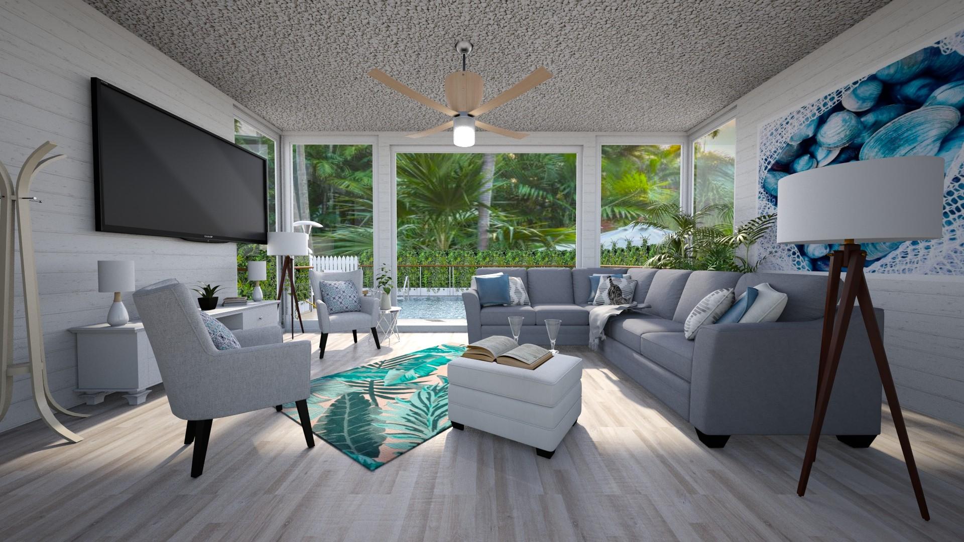 Living Room 1 - Living room  - by Sugarfishfish