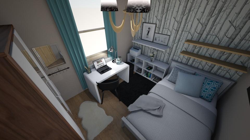 my bedroom - Bedroom - by Adrii
