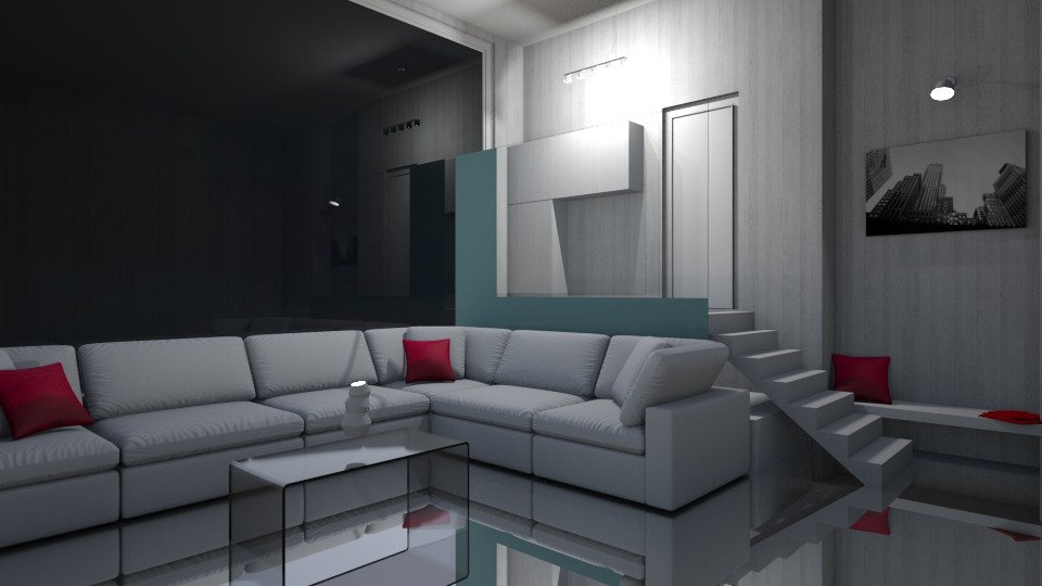 Modern Palace Room - Modern - Living room - by seasidepine